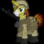First Sergeant Allen Sparkle