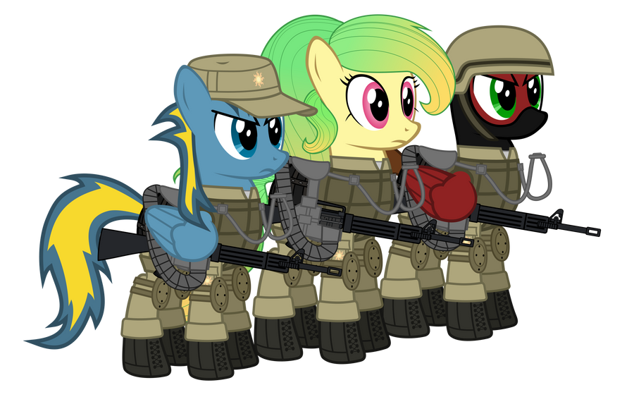 The Royal Special Forces by DolphinFox