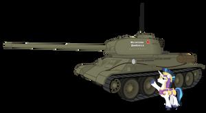 Shining Armor found T-34-85