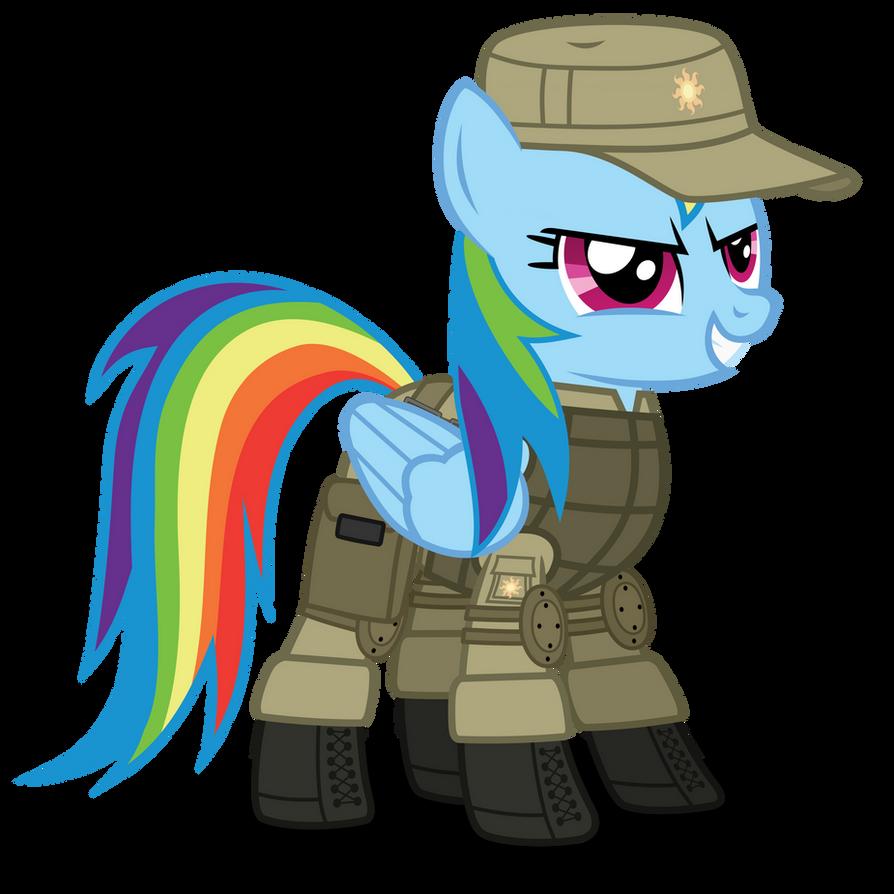 Rainbow Dash ''SCAT'' armor by DolphinFox