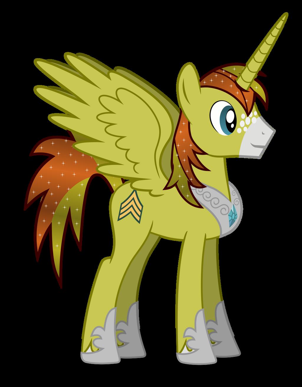 Allen Sparkle - Alicorn by DolphinFox