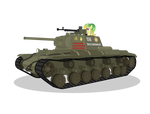 Dushess and Allen driving KV-220 by DolphinFox