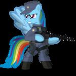 Rainbow Dash EQPD SWAT