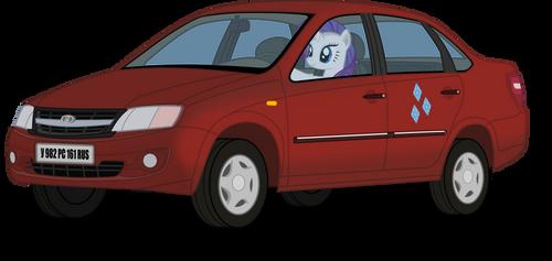 Rarity driving Lada Granta (VAZ-219060)