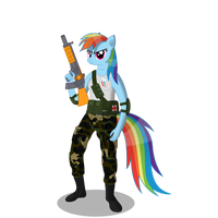 Ponex Rainbow Dash