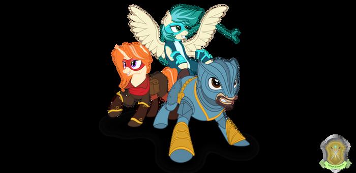 RBC Mascots (Commission)