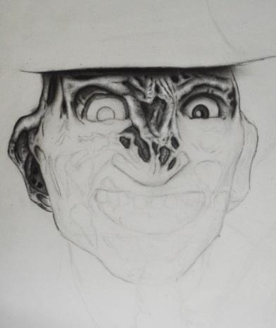 Freddy Krueger redraw WIP 2 by AlexAngelPrince