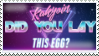 Kakyoin, Did You Lay This Egg Stamp by mattlancer
