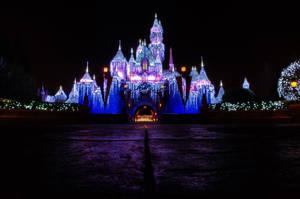 Quiet Night with Sleeping Beautys Castle by ExplicitStudios