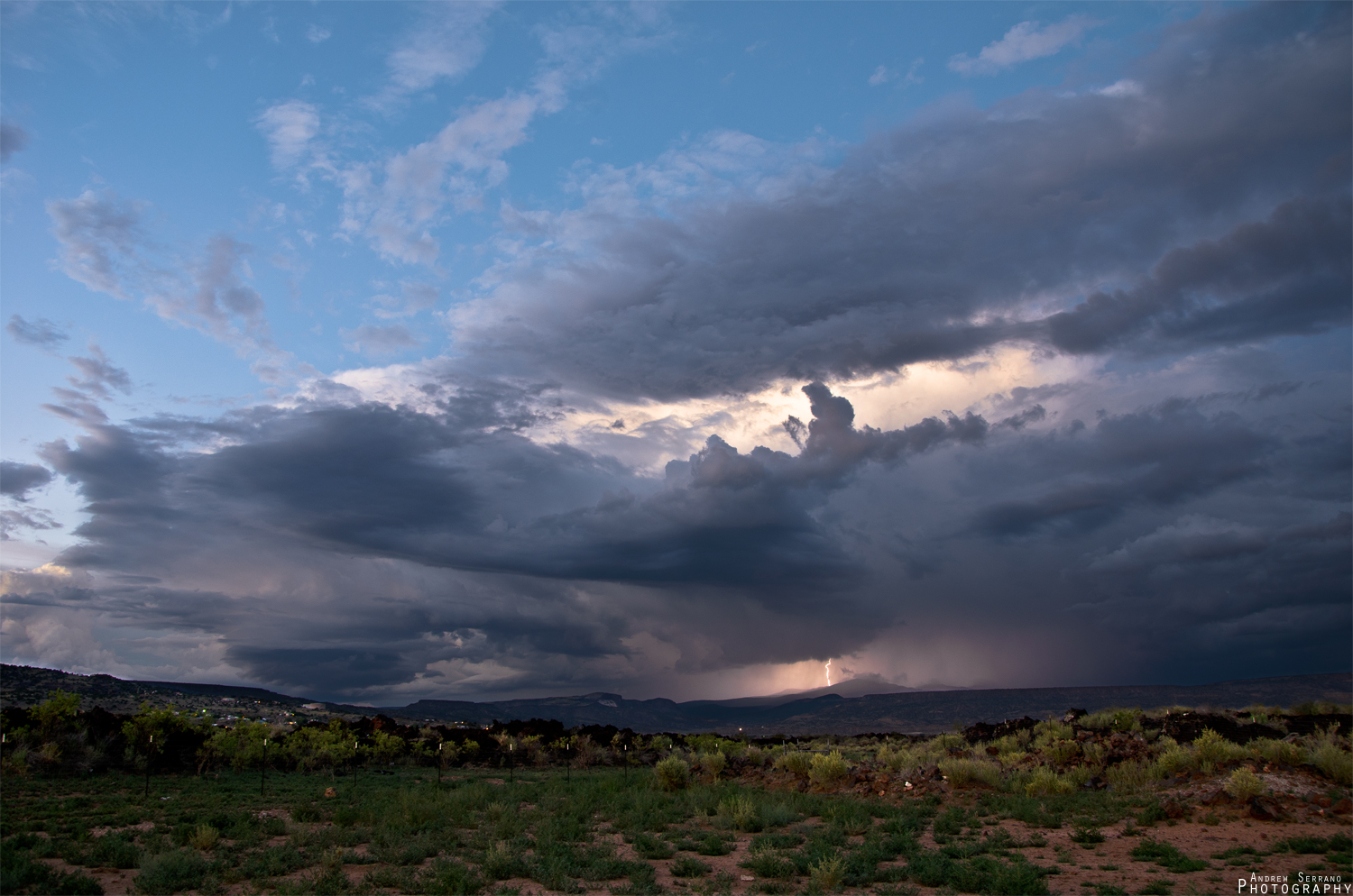 Arizona Storms Overhead by ExplicitStudios