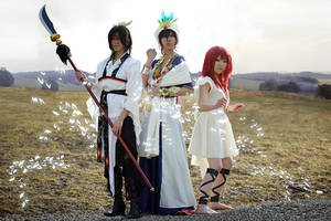 Magi Group Shoot by Karumen-Chan