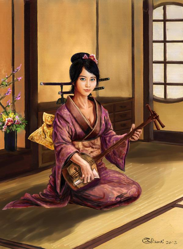 Bunraku - Kimiko by Bisanti