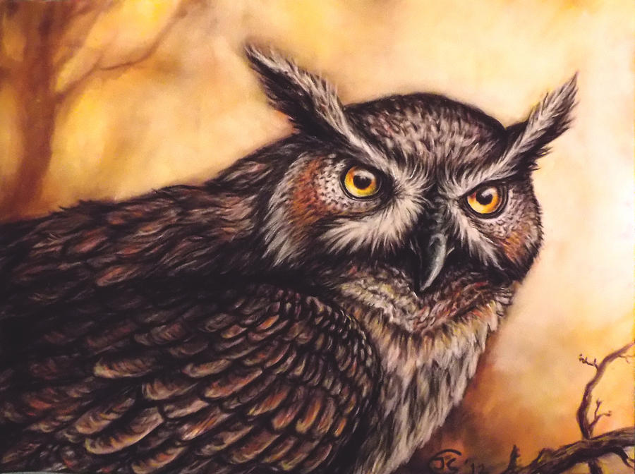 Owl by Bisanti