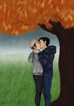 Jeanmarco, trees and rain