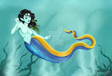Mer(ibbon eel)maid