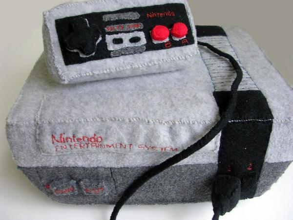 Nintendo NES plushie