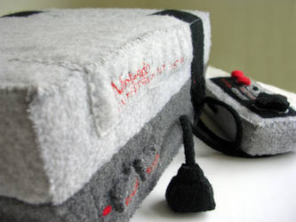 Nintendo NES plushie 2 by restlesswillow
