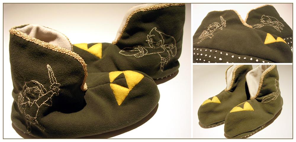 Windwaker Link slippers by restlesswillow