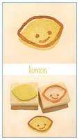 Citrus stamps - Lenny Lemon by restlesswillow