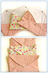 Quilted envelopes