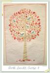 Pink Tree - a mini quilt