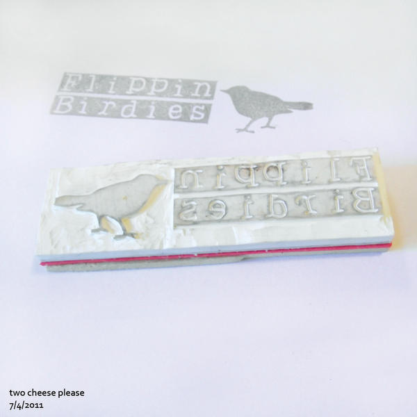 Flippin Birdies stamp by restlesswillow