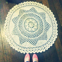 A doily blanket