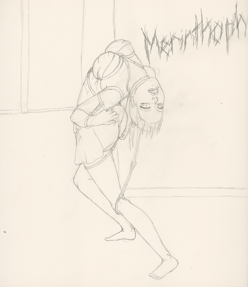 Merinthophobia 1st of many phobia drawings by Lady-Ra