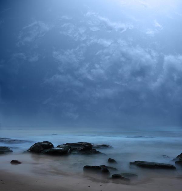 Premade Background - beach