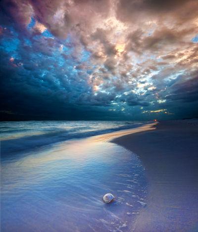 Cosmic Beach Premade Background