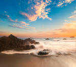 Premade beach background