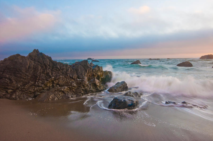Magic Beach Stock by little-spacey