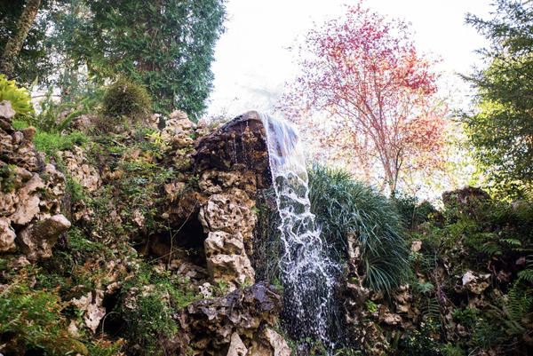 Sintra Waterfall Stock by little-spacey
