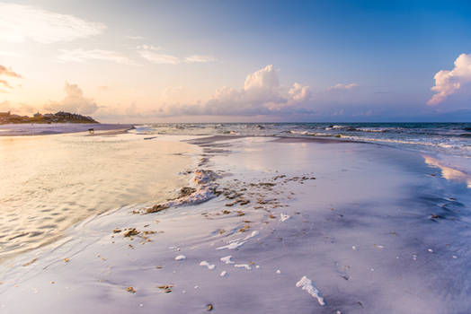 UNRESTRICTED Dreamscape Beach Background Stock