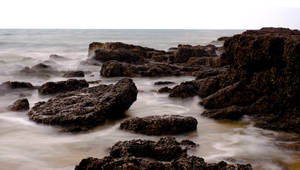 More Misty Rocks Stock by little-spacey