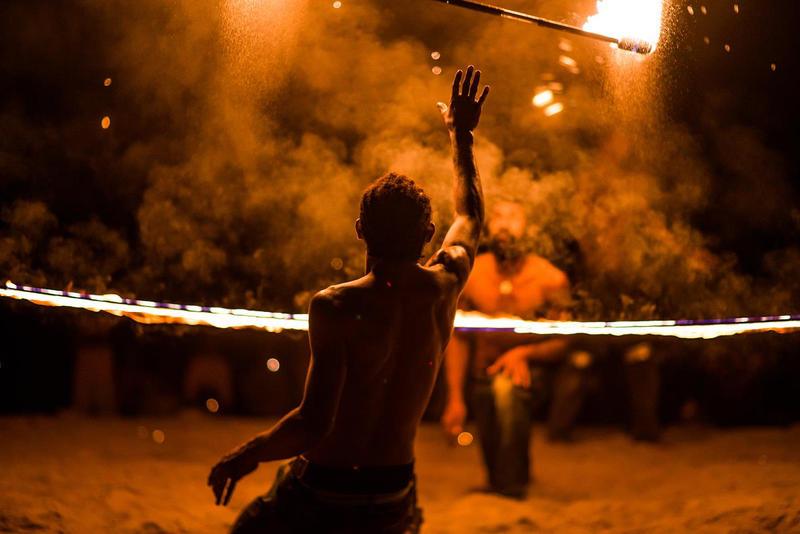 Vanuatu Fire Dance by little-spacey