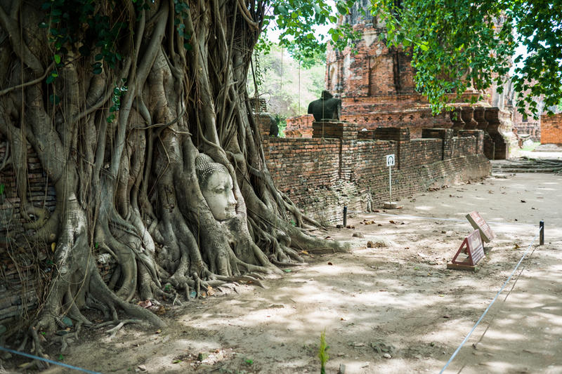 Ayutthaya Face stock II by little-spacey