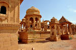 India Abandoned Temples Stock