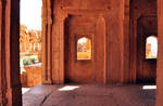 India temple interior stock