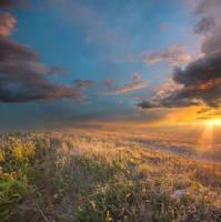 Sundown Premade Background by little-spacey