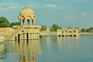 Jaisalmer Temple Stock