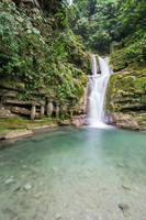 Las Pozas Waterfall and Pool Stock by little-spacey
