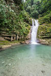 Las Pozas Waterfall and Pool Stock
