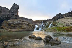Otherworldly Iceland Stock