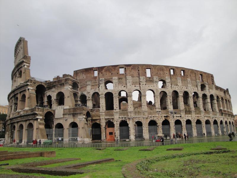 Coliseo Romano By Mellamanhi On Deviantart