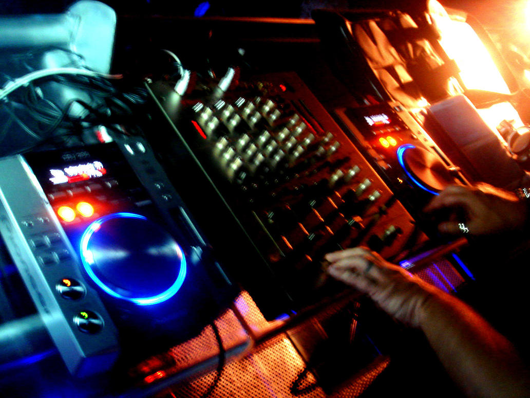 DJ Desk in action by germanshepherddog on DeviantArt