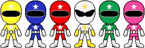 Power Rangers Star Squad by Power-Ranger-S-S