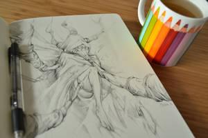 Tea doodle