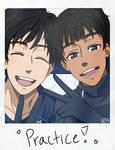 Yuri On Ice!!!~Yuri and Pichit