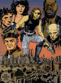 Escape from NY by Nick Derington color by chaz